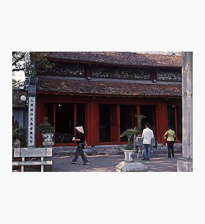 Pagoda Ngoc Son Photographic Print