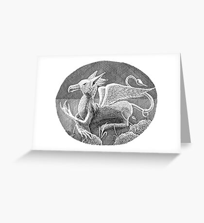Gryphon Greeting Card