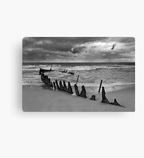 Dicky Beach Wreck Canvas Print