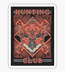 Hunting Club: Rathalos Sticker
