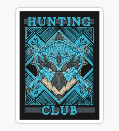Hunting Club: Azure Rathalos Sticker