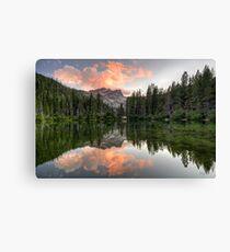 Sierra Buttes Sunset Canvas Print