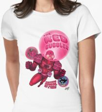 The Red Bubbler! Women's Fitted T-Shirt