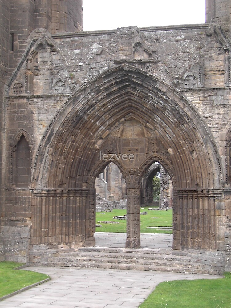 Elgin Cathedral, Scotland (1) by lezvee