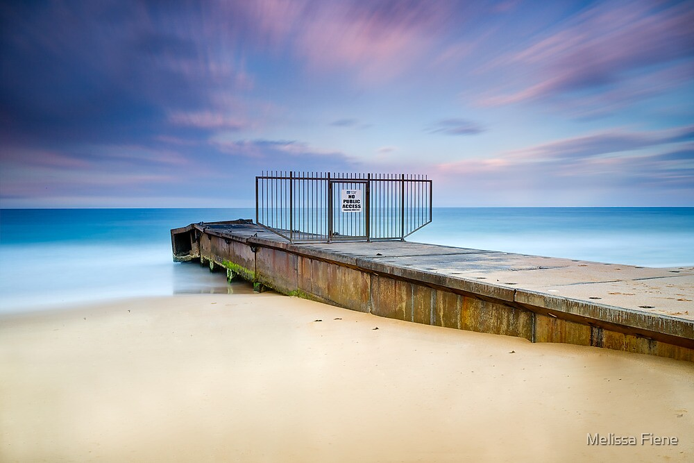 Collaroy Beach by Melissa Fiene