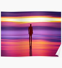 Merseysides Mystical Another Place Poster