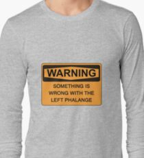 left phalange c Long Sleeve T-Shirt