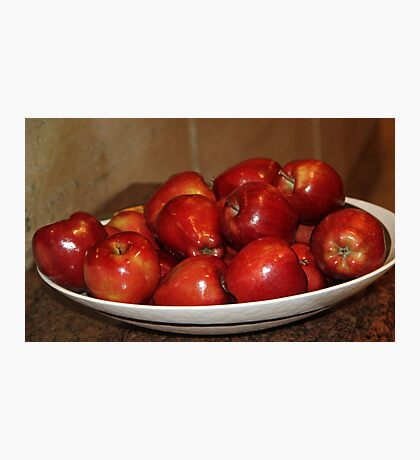 Just Apples! Photographic Print