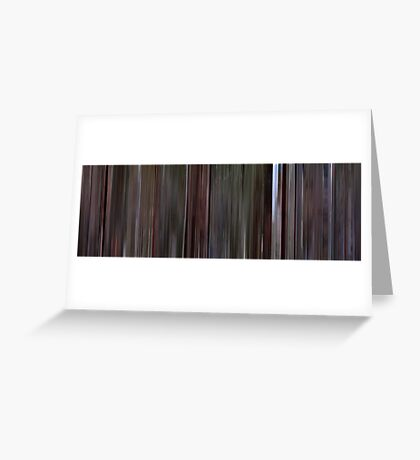 Moviebarcode: Reservoir Dogs (1992) Greeting Card