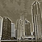 Skyscrapers of Singapore by Adri  Padmos