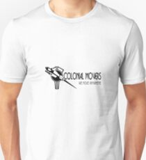 Colonial Movers - Black & White T-Shirt