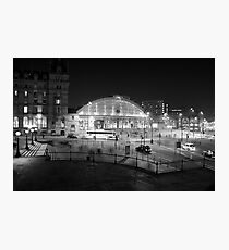 Liverpool Lime Street Night 1 Photographic Print