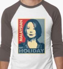 Julia's Malaysian Holiday Men's Baseball ¾ T-Shirt