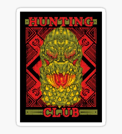 Hunting Club: DevilJho Sticker