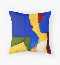 alone again for night Throw Pillow
