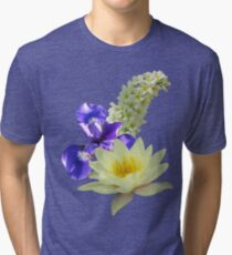 Dream of Flowers Tri-blend T-Shirt