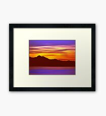 The End is Night Framed Print