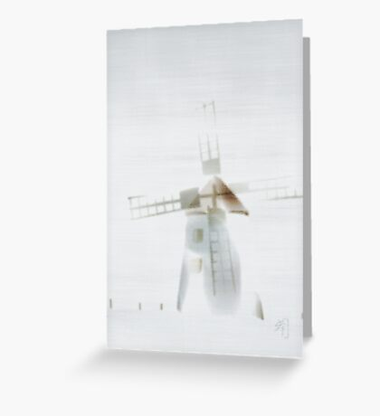 """fog"" at Butle, Fårö, Gotland, greeting card Greeting Card"