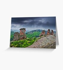Belogradchik Rocks, Bulgaria Greeting Card