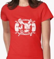 Smash Arms Womens Fitted T-Shirt