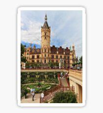 Schwerin Palace & Garden - Mecklenburg-Vorpommern, Germany Sticker