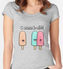 CANNIBAL! Women's Fitted Scoop T-Shirt