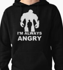 I'm Always Angry - Funny T-Shirt Short Sleeve 100% Cotton   T-Shirt