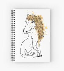 Horsecat Spiral Notebook