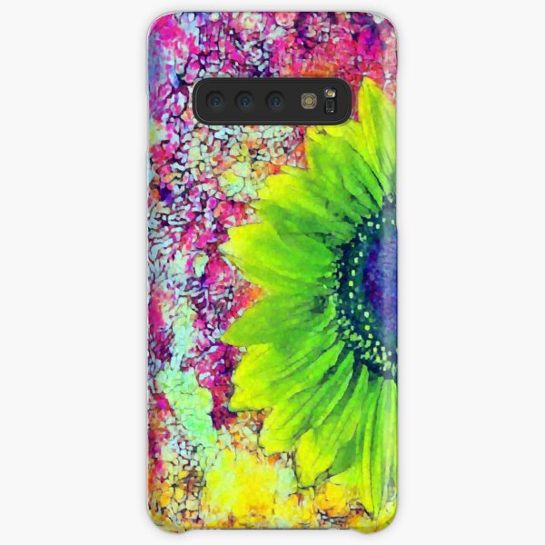 Abstract sunflower Samsung Galaxy Snap Case