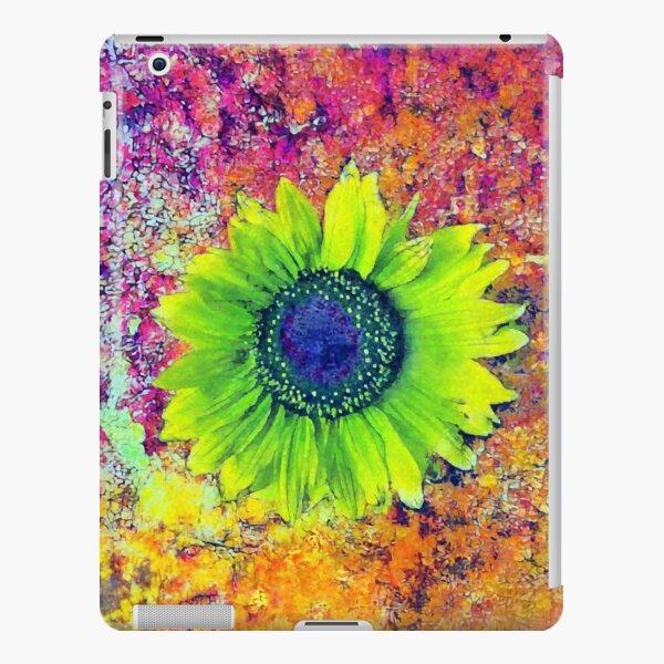 Abstract sunflower iPad Snap Case