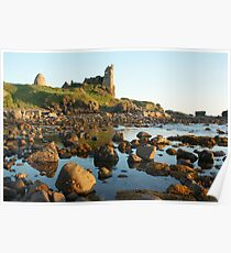 Dunure Castle, Ayrshire, Scotland Poster