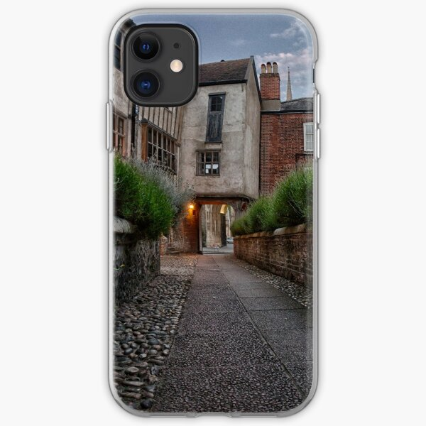 Tombland Alley, Norwich iPhone Soft Case