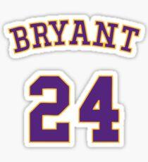 Best Seller - Kobe Bryant 24 Merchandise Sticker