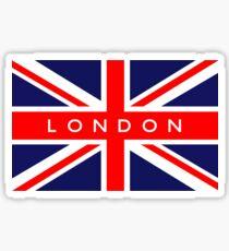 London UK British Union Jack Flag Sticker