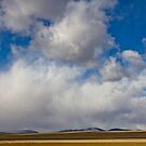 Storm Skies Over The Plains by Gregory J Summers