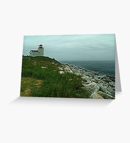 Port Bickerton Lighthouse Greeting Card