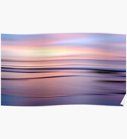 Etty Bay sunrise Poster
