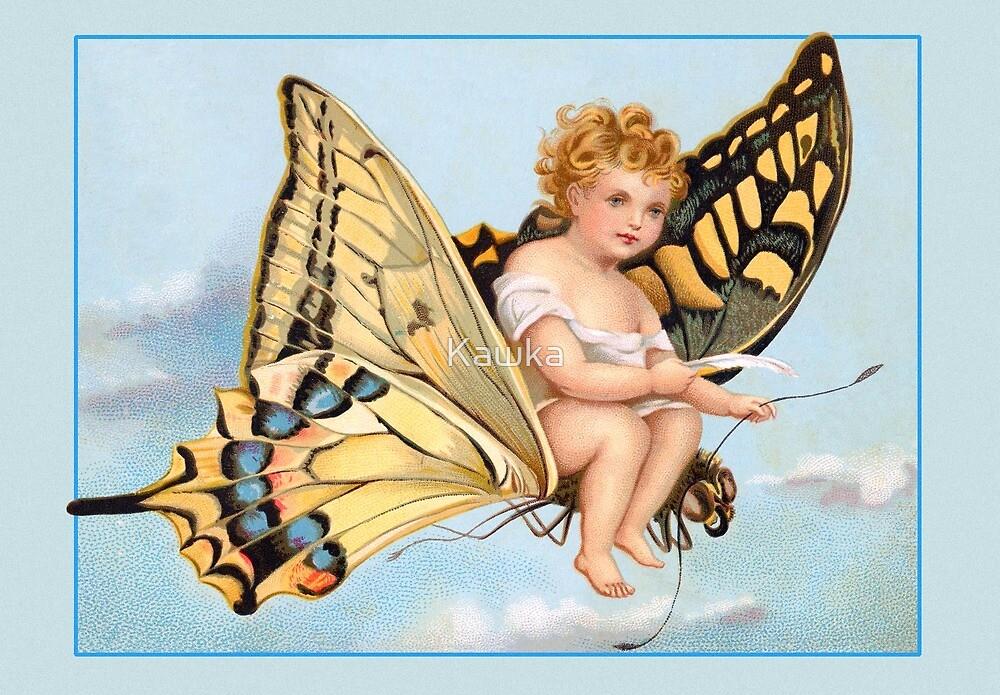 Vintage Victorian Card by Kawka