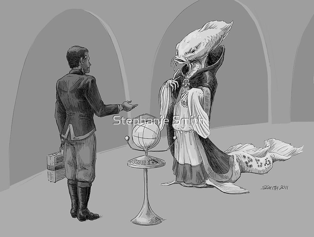 Alien Diplomacy (in progress #2) by Stephanie Smith
