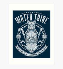 Avatar Southern Water Tribe Art Print