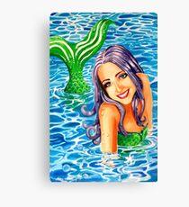 My Little Mermaid Canvas Print