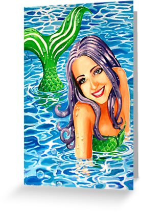 My Little Mermaid by nancy salamouny