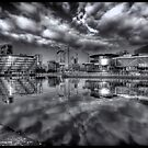 Media City Salford Quays  by Ian Parry
