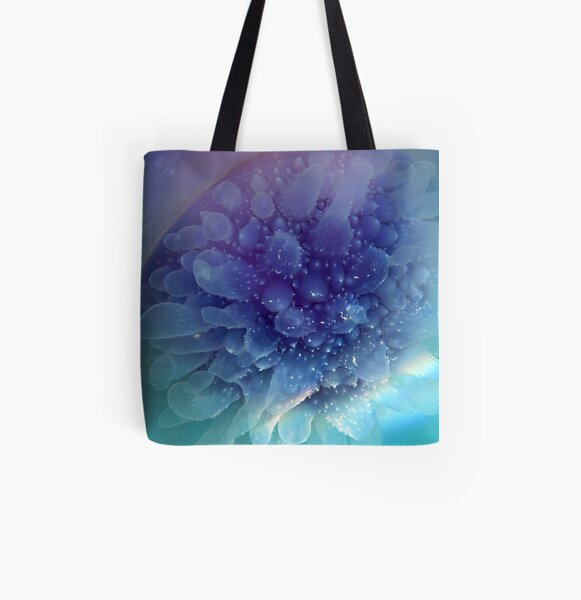 Jellyfish All Over Print Tote Bag