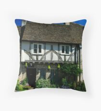 Castle Combe, Cotswold. Throw Pillow