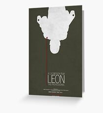 Leon - The Professional Greeting Card
