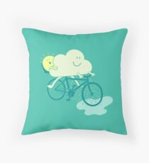 Weather Cycles Throw Pillow