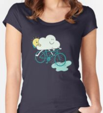 Weather Cycles Women's Fitted Scoop T-Shirt