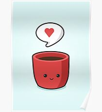 Cute Mug Poster