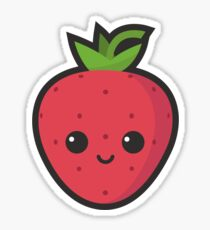 Cute Strawberry Sticker